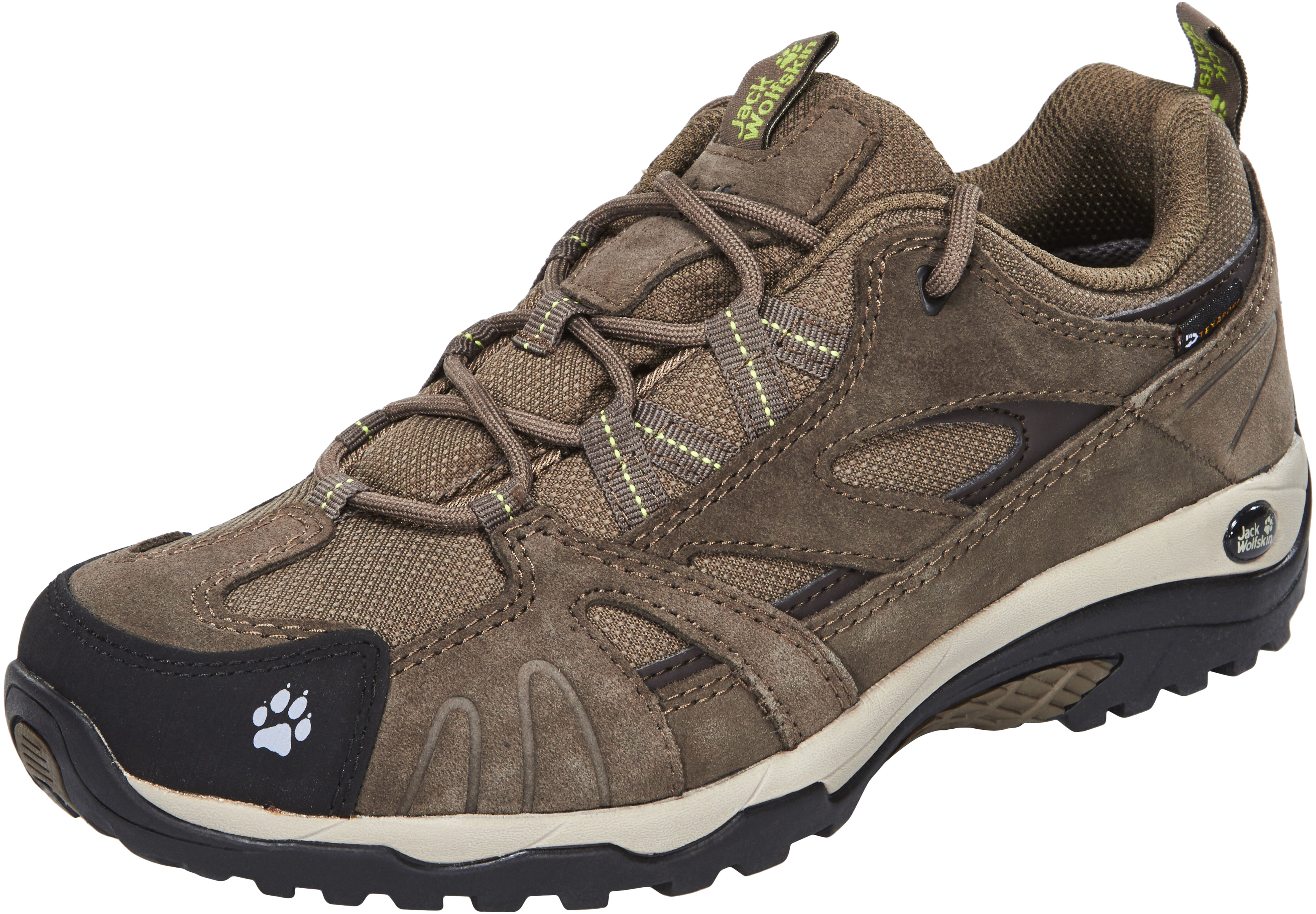 c15b7fccec Jack Wolfskin Vojo Hike Texapore Shoes Women beige/brown at ...